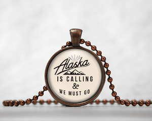 Alaska Is Calling | Cream Background