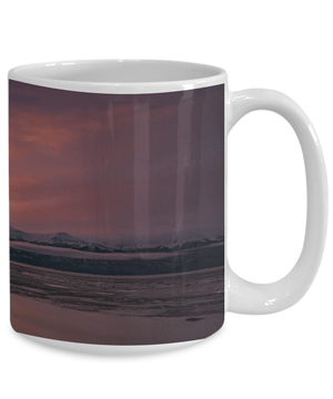 Turnagain Arm Sunrise | Full Wrap Mug