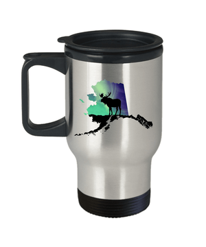 Aurora Moose Travel Mug