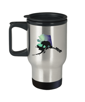 Aurora Bear Travel Mug