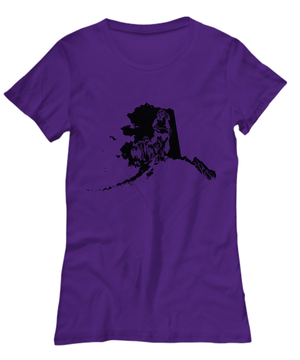 Iditarod/Dog Sled Womens T