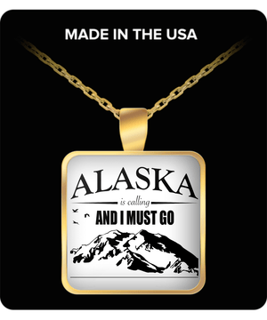 Alaska Is Calling Necklace