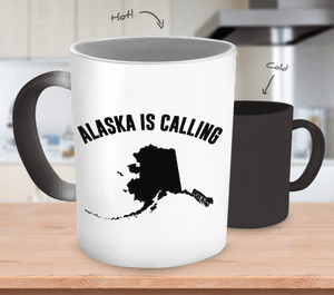 Alaska Is Calling | Color Changing Mug