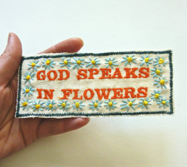 God Speaks in Flowers