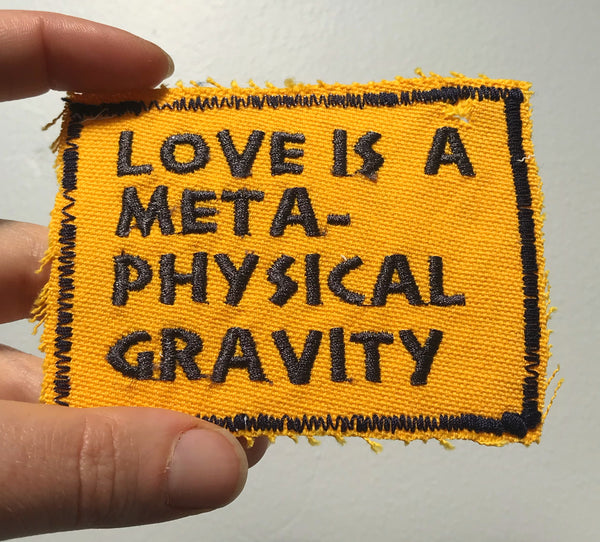 Bucky Fuller Quote - Embroidered Patch