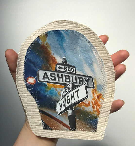 Haight-Ashbury Canvas Applique Patch