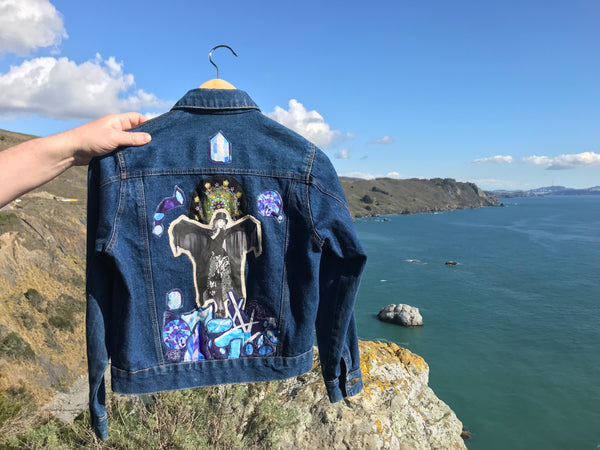Stevie Nicks Jean Jacket. Crystal Visions