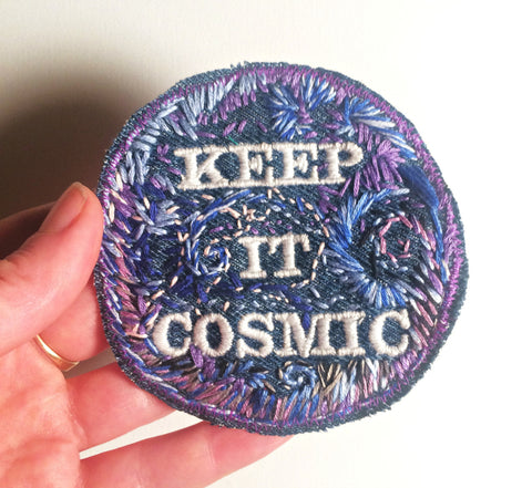 Keep It Cosmic Patch - NASA Porn Edition