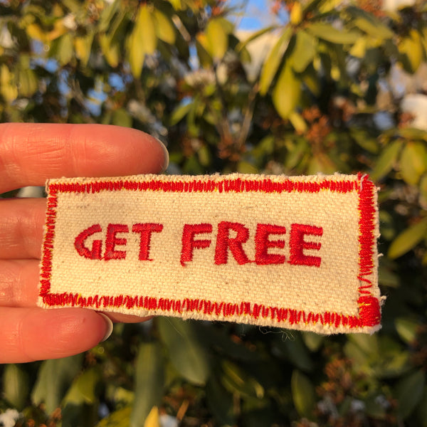 Get Free - Embroidered Patch