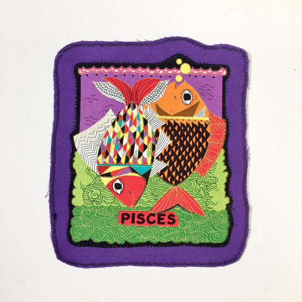 Pisces. Large Back Patch