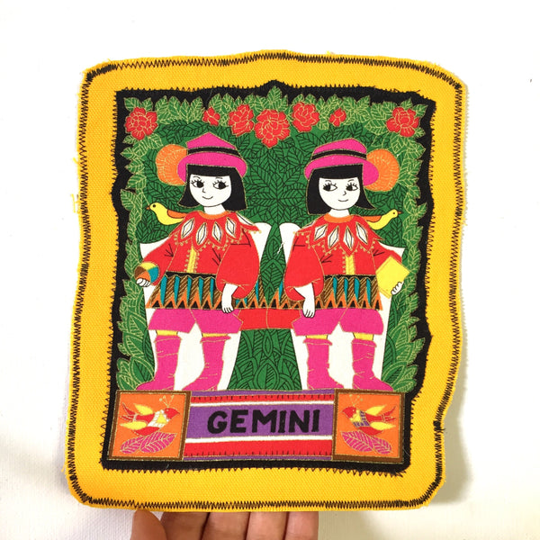 Gemini. Large Back Patch