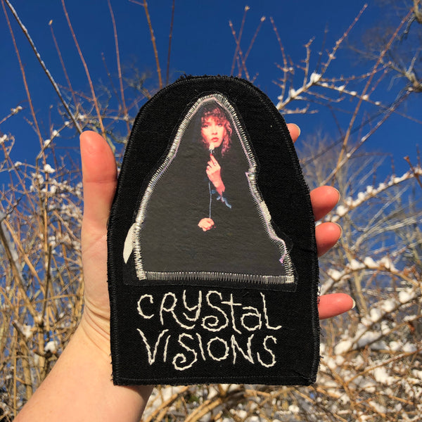 Stevie Nicks - Crystal Visions - One of a Kind Back Patch