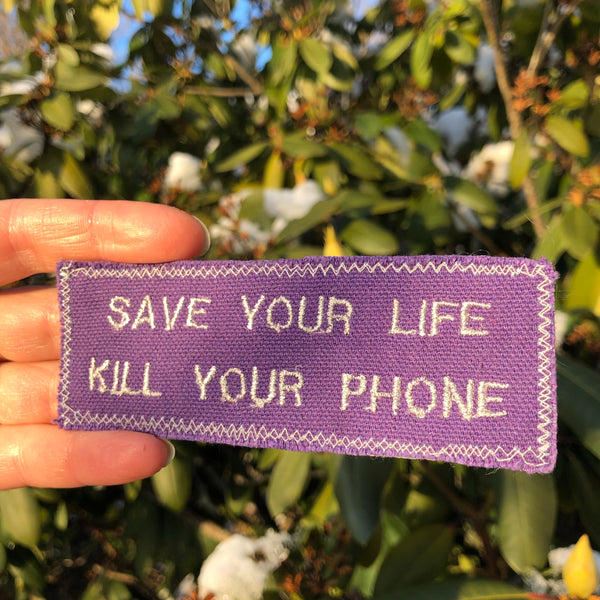 Save Yourself! - Embroidered Patch