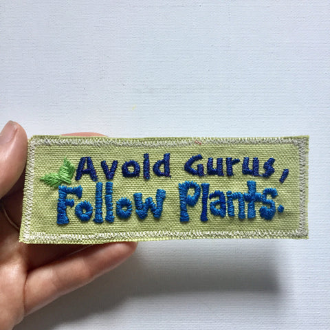 McKenna Wisdom Canvas Hand-Embroidered Patch