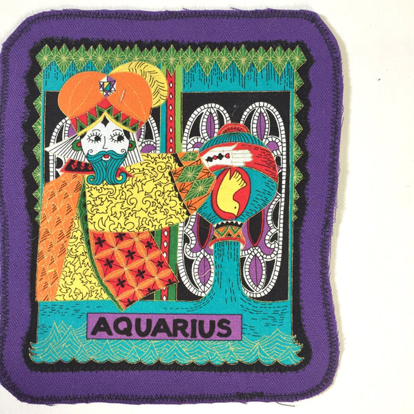 Aquarius. Large Back Patch