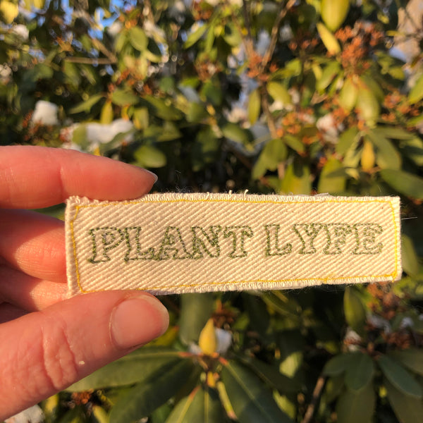 Plant Lyfe - Embroidered Patch