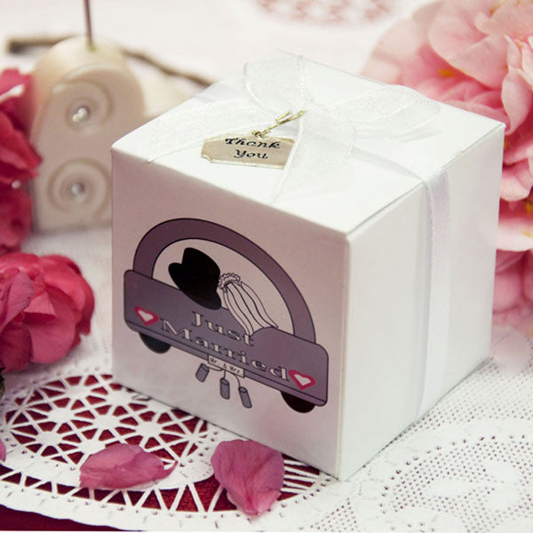"Favor Box ""Just Married"" 10ct"