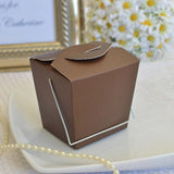 Mini Asian Style Take Out Favor Boxes - Matte Finish