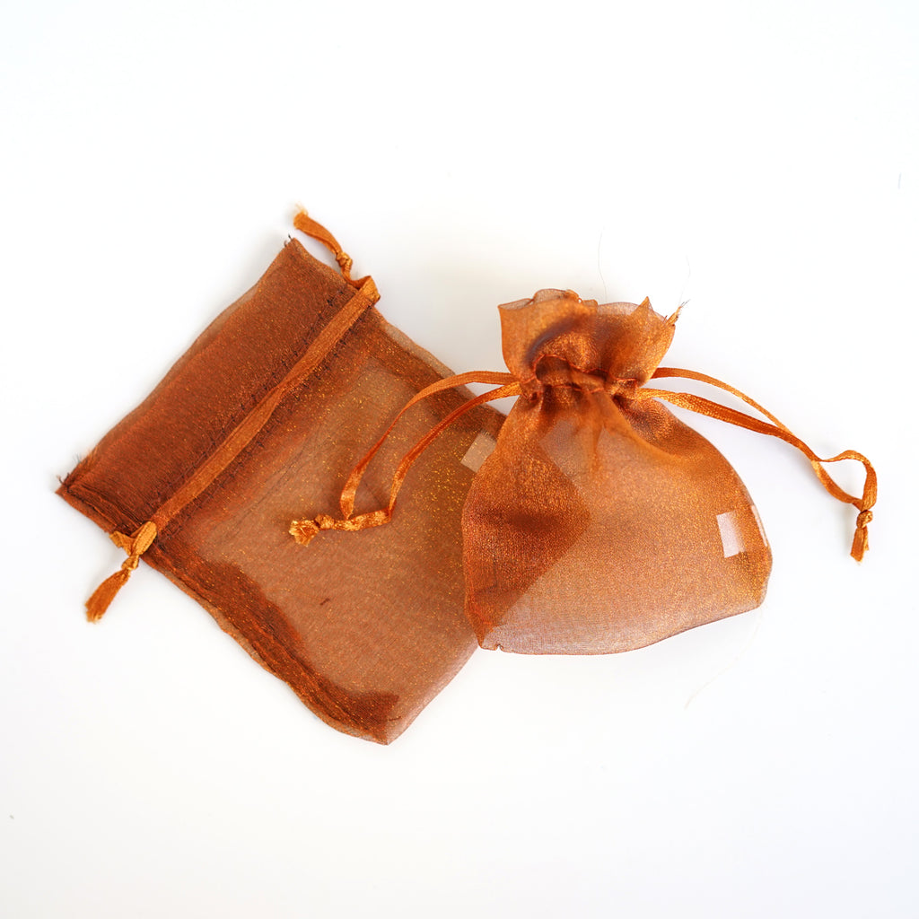 "Organza Favor Pouches w/Light Shimmery Material 3""x4"""