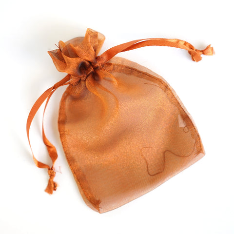 "Organza Favor Pouches w/Light Shimmery Material 4""x 6"""