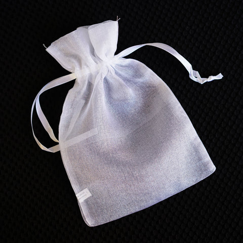 "Organza Favor Pouches w/Light Shimmery Material 6"" x 9"""
