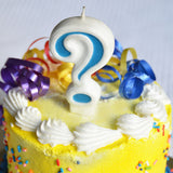 Number Candle for Birthday Party Cakes & More - Blue