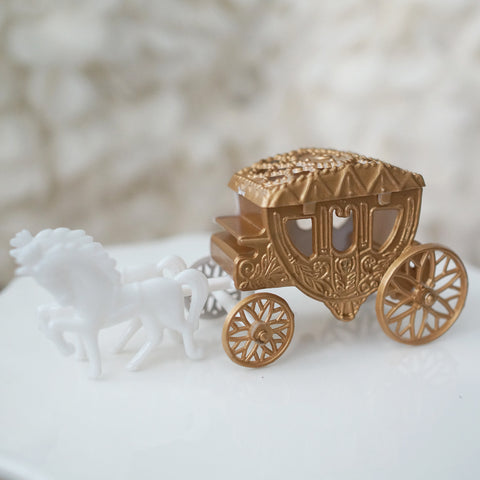 Mini Horse & Carriage Set