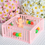 Baby in Playpen (White)