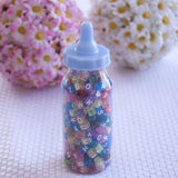 Baby Bottle 5 Inch Small Clear Fillable Favors 6ct