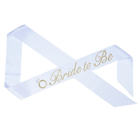 """Bride To Be"" Bachelorette Party Sash"