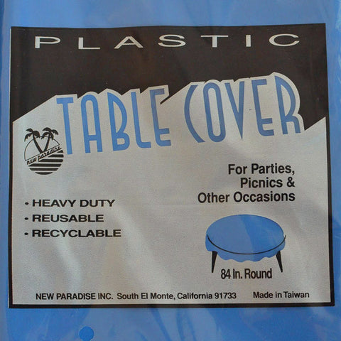 "Table Cover Heavy Duty 84"" Round"