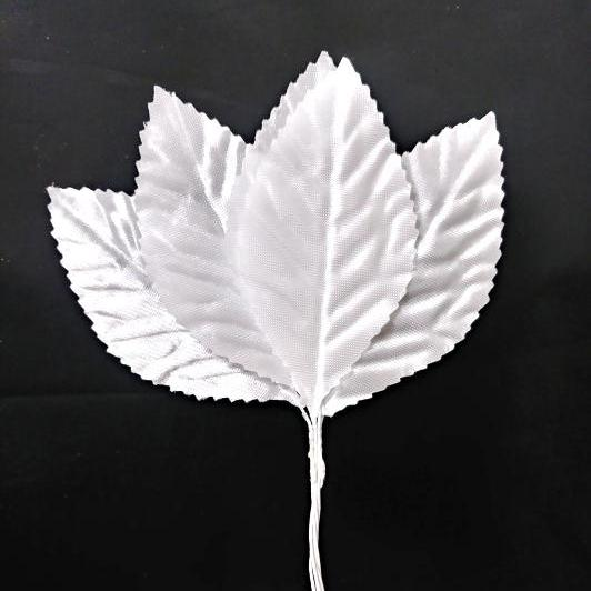 Leaves White  2 sizes available