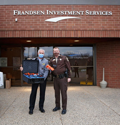 Frandsen Bank & Trust donates drone to Scott County Sheriff's Office