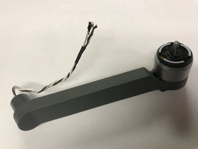 DJI Mavic pro platinum rear right arms (with no shoulder joint)
