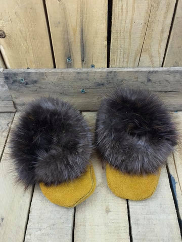 Factory Hide Slipper Fur