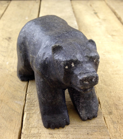 Bear Soapstone Carving