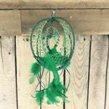 Dreamcatcher with Headdress Inside