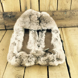 Chinchilla Fur Neck Scarf
