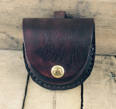 Leather Snuff Case With Belt Loop
