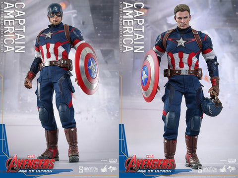 Sixth Scale: Captain America Collectible Figure