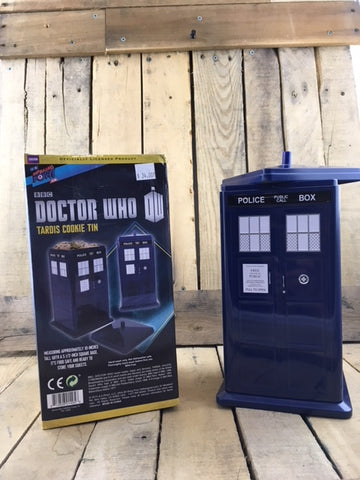 Doctor Who Cookie Tin