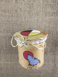 Baby Birch Bark Baskets Hand Painted