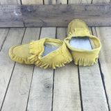 Factory Hide Slippers with Sheep Wool Lining