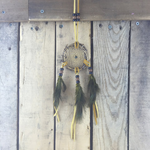 Branch Dreamcatcher With Feathers