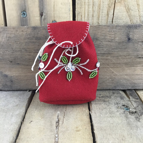 Red Stroud Mini Backpack
