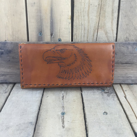Eagle Leather Wallet