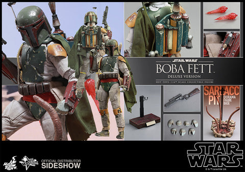 Sixth Scale Deluxe Boba Fett, Star Wars