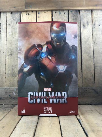 Captain America Civil War Iron Man Mark XLVI 6th Scale Collectible Figure