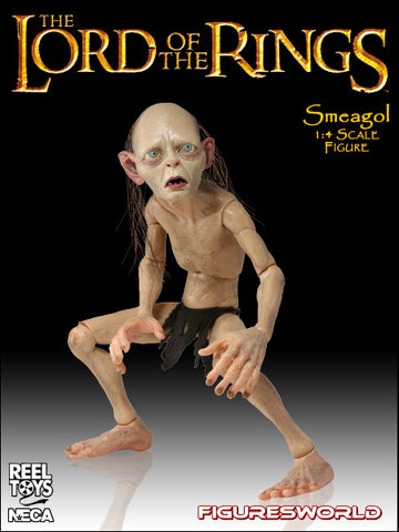 Neca 1:4 Scale: Smeagol Collectible Figure
