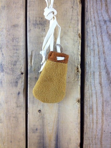 Small Moose-hide Medicine Pouch